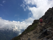 Chamonix training