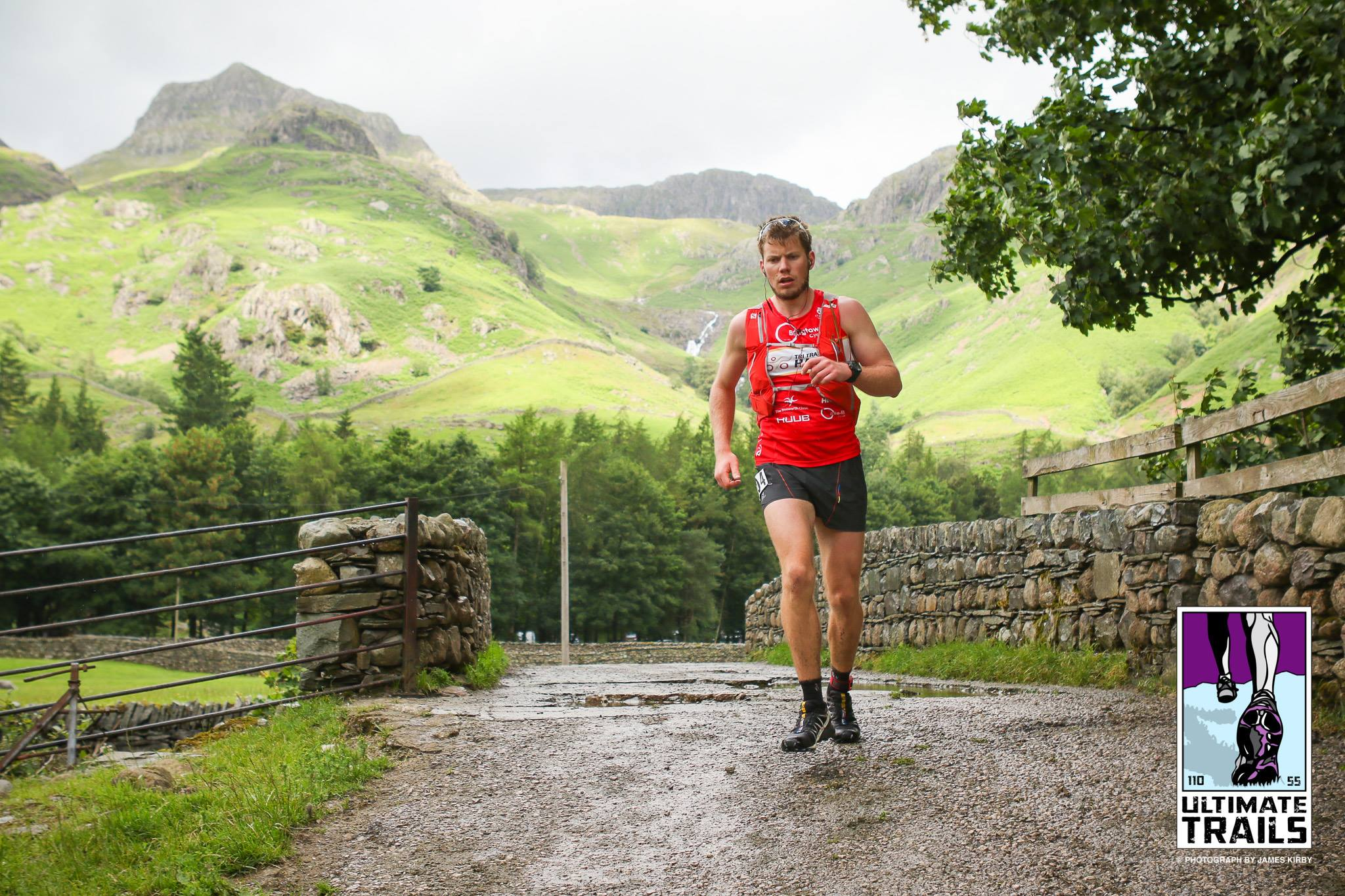 Ollie Stoten 110km lake district