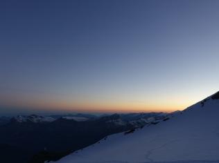 Tete Rouge sunrise